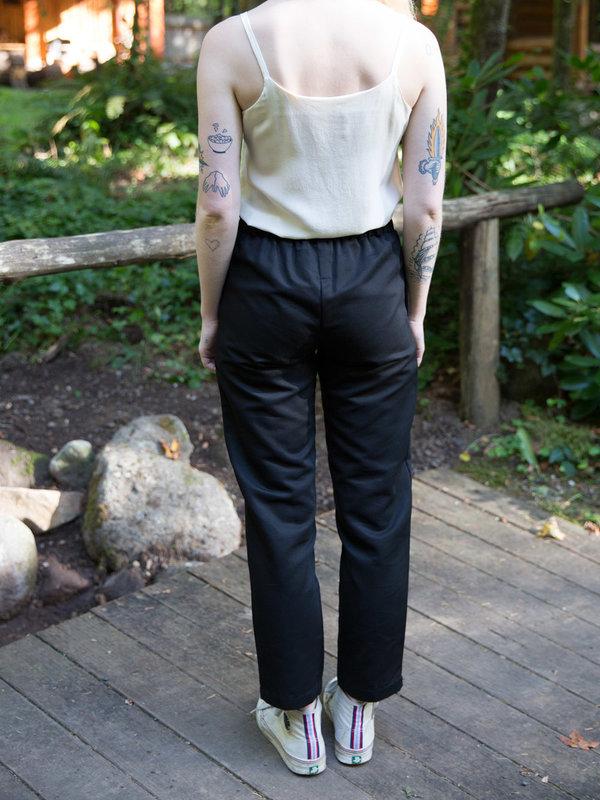 Wrk-Shp Black Pocket Pant