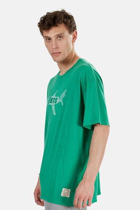 Retro Sport Jets Graphic T-Shirt - Green