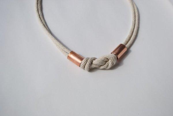 Byron & Blue The Portside Necklace - Au Naturale