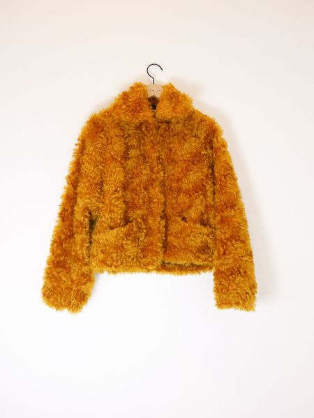 Odeeh Curly Jacket - Honey