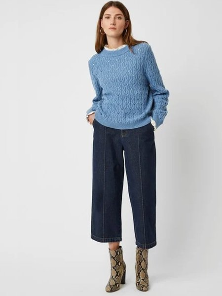 Great Plains Laila Knit - Denim Marl