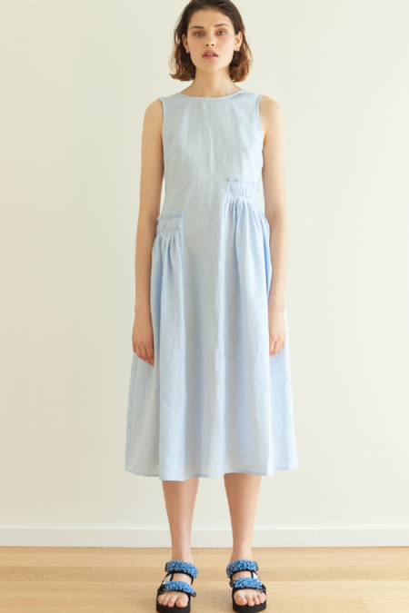 hej hej Balancing Act Dress - Sky Blue