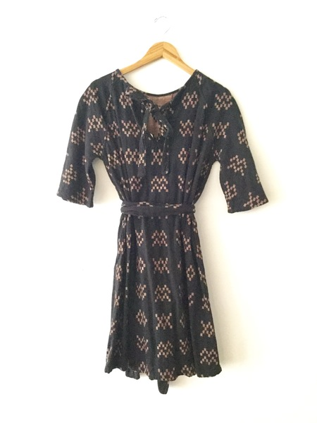 Ace & Jig Beatrice Dress - Black Sampler
