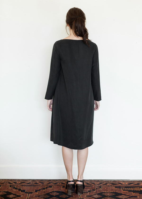 Megan Huntz Janet Dress in Brushed Cotton Twill