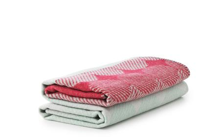 Normann Copenhagen Ekko Throw Blanket - Raspberry/Mint