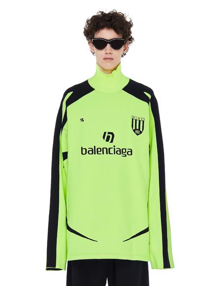 Balenciaga Soccer High-Neck Sweater