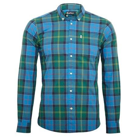 Barbour Toward Tailored Fit Shirt - Blue