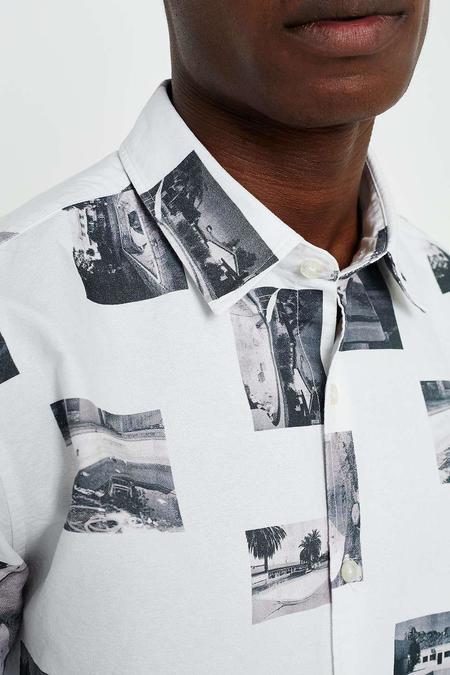 Edwin Archive Photo Print Short Sleeve Shirt