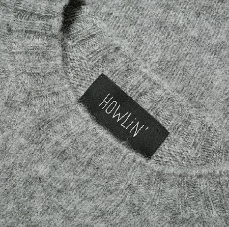 Howlin' BIRTH OF THE COOL Wool Sweater - Med Grey