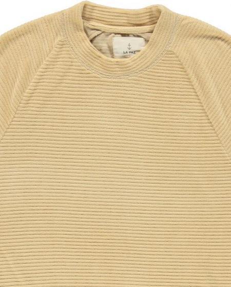 La Paz CUNHA TERRY TOWEL sweater - CAMEL