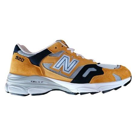 New Balance M920YN shoes - Yellow/Gray/Blue