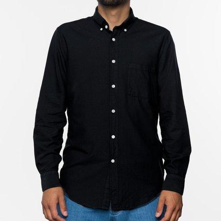 PORTUGUESE FLANNEL Belavista L/S Shirt - Black