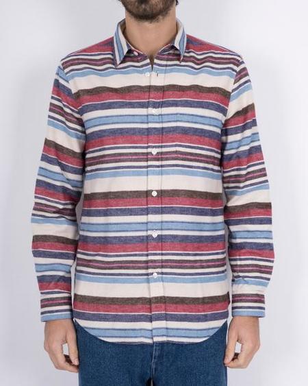 Portuguese Flannel Montauk Shirt - Multi