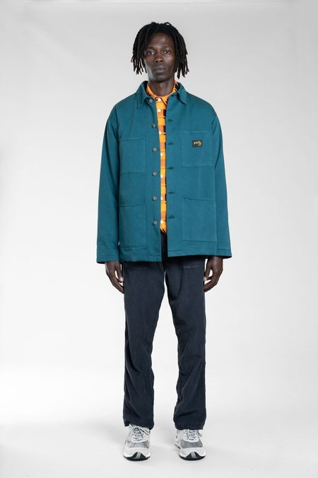 Stan Ray LINED SHOP JACKET - CARBON GREEN
