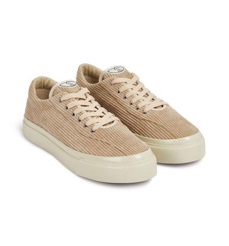 Stepney Workers Club DELLOW Corduroy shoes - Ecru