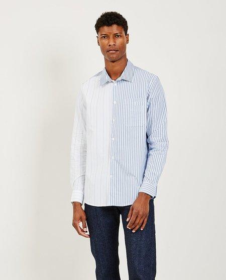 Wood Wood Timothy Shirt - white stripes