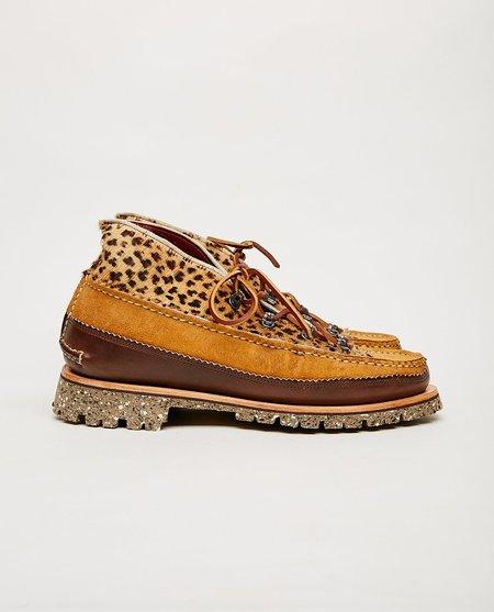 YUKETEN Tokyo DB Chukka Boot - Brown Leopard