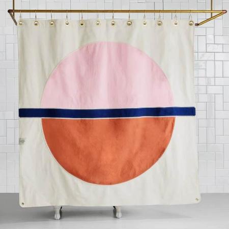 Quiet Town Home Arco Shower Curtain - Phlox