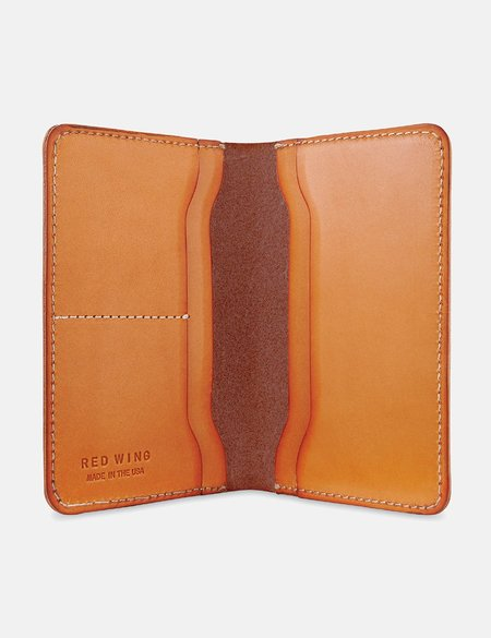 Red Wing Shoes Passport Wallet - London Tan