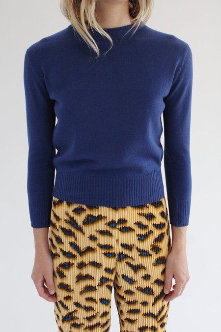 Beklina Crew Sweater - Cobalt