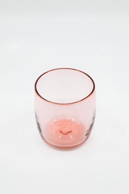 Rocket Glass Works Shebang Tumbler - Rose