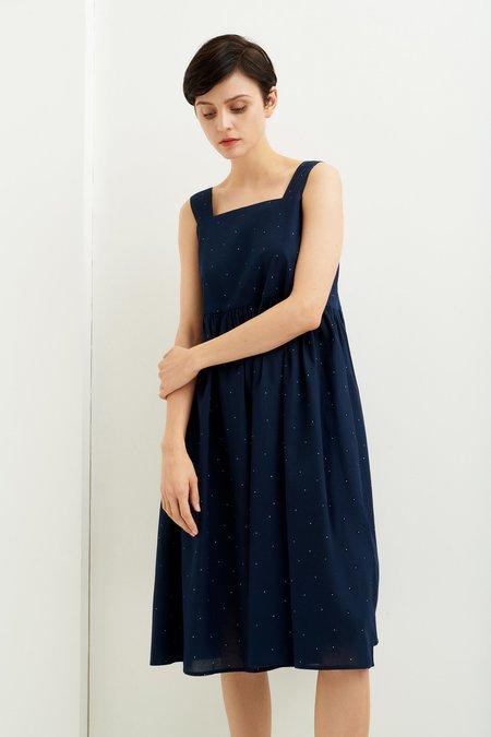 Kowtow Spring Dress - Observer Print