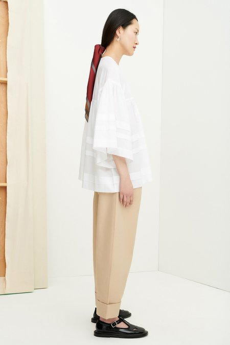 Kowtow Aerial Top - White
