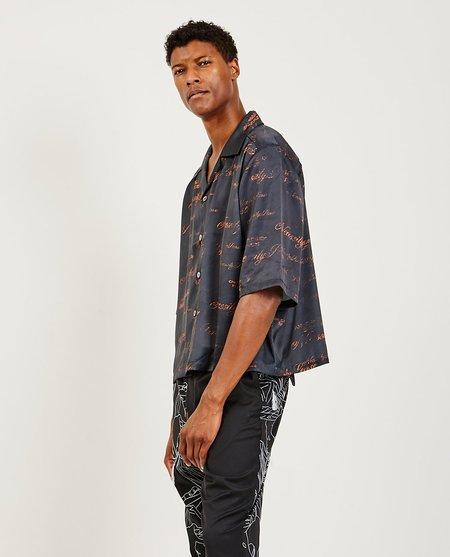 Ne.Sense Vacay Cropped Shirt - Dry Onyx