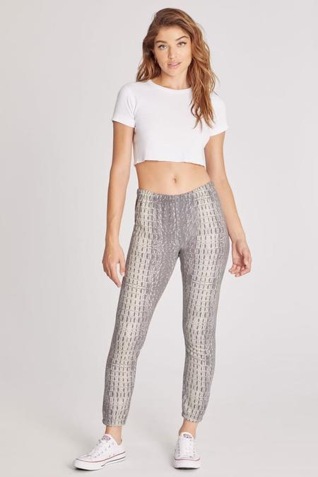 Wildfox Couture Wetland Bottoms Knox Pant - croc