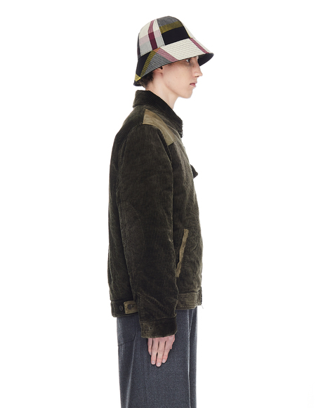 Golden Goose Corduroy Zipped Jacket