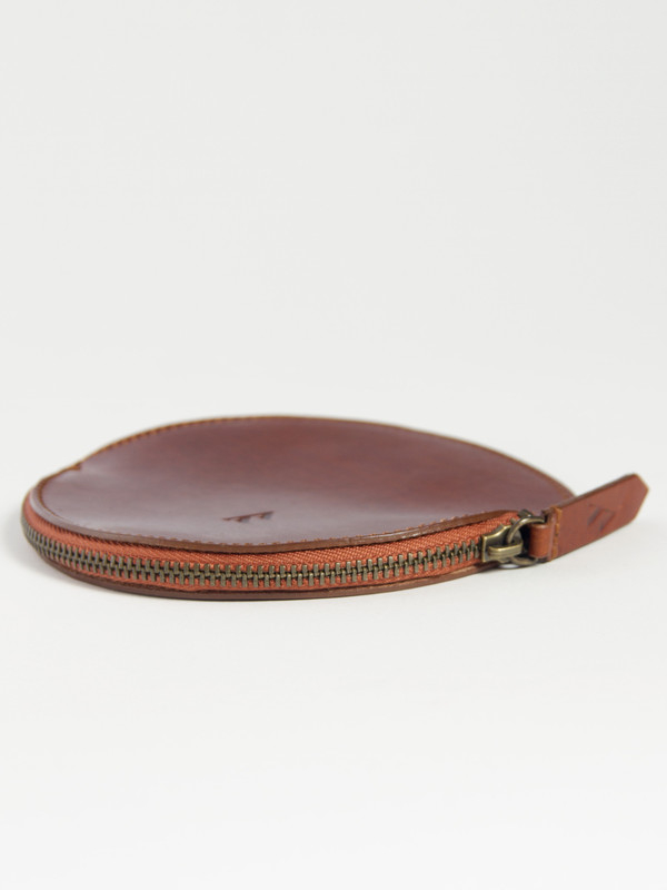 VereVerto Mon Circle Pouch Brown