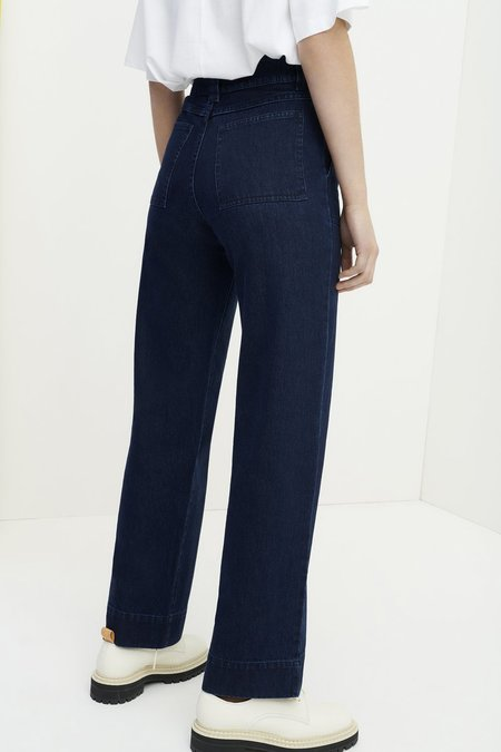 Kowtow Carpenter Pant - Indigo Blue