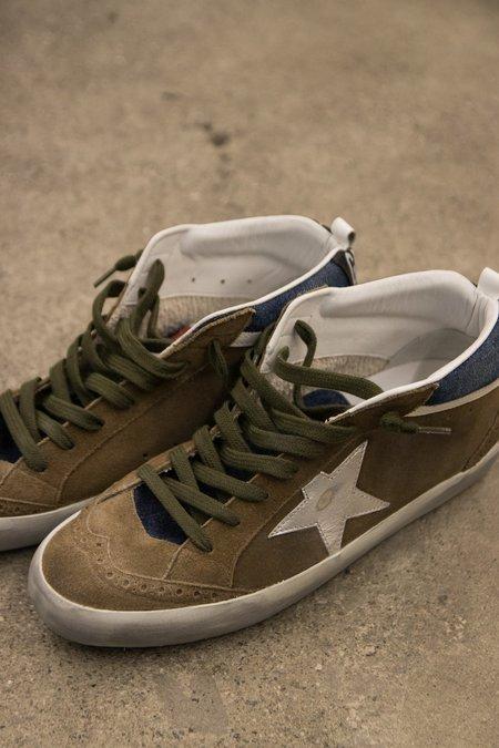 Golden Goose Cognac Suede Midtstar Sneaker