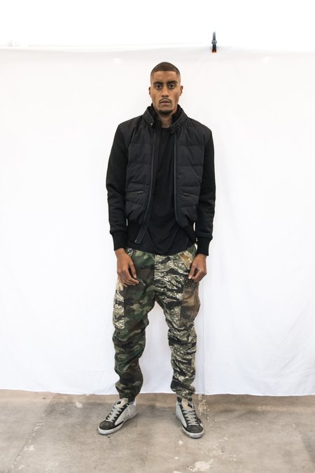 Herno Mixed Media Members Only Jacket