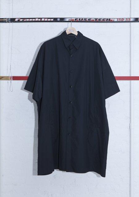 Yohji Yamamoto Oversize Long Shirt - Black