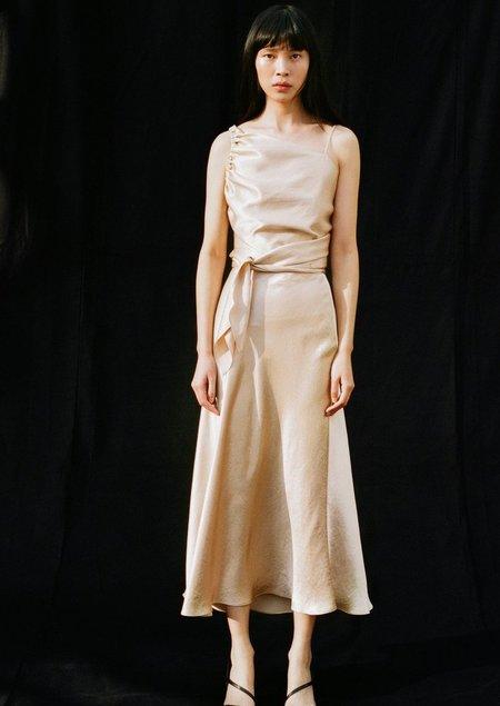 Shaina Mote Naropa Skirt - Champagne