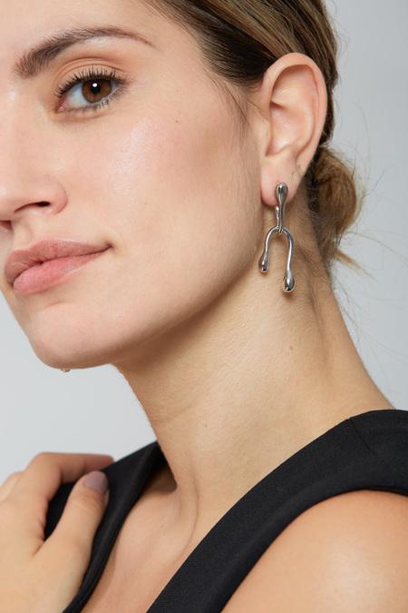 LAU Earrings - Silver