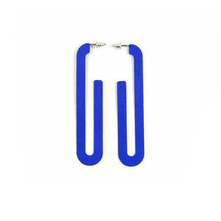 Sibilia Road Earring - Klein Blue