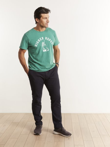 Mother Denim The Buster T-Shirt - Kelly Green