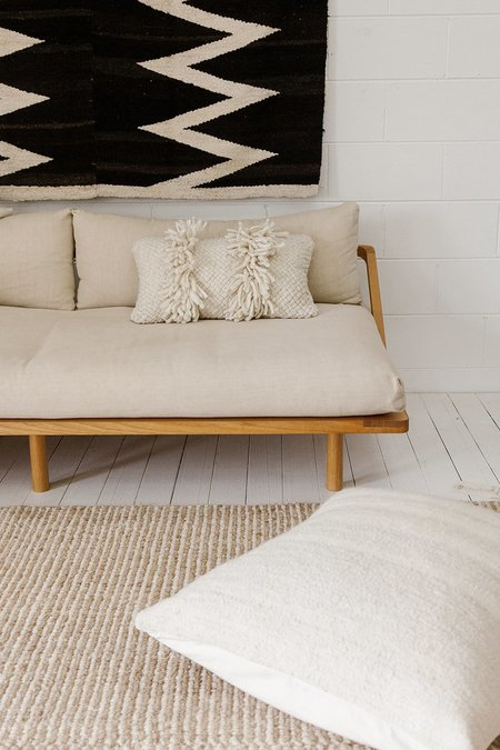 Pampa Monte Lumbar Cushion #9 - Natural