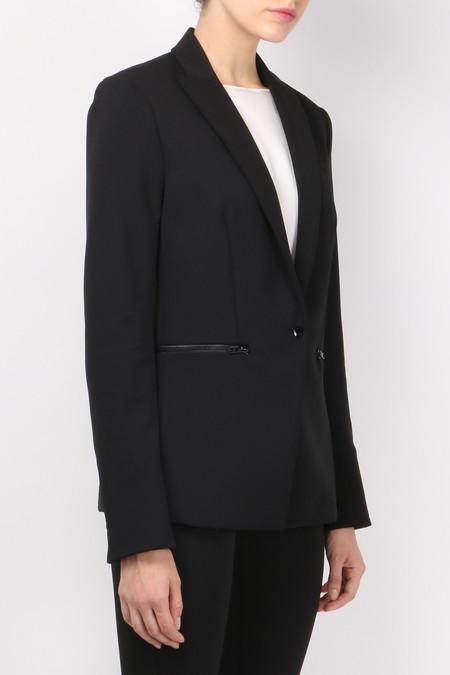 Veronica Beard Scuba Jacket - Black