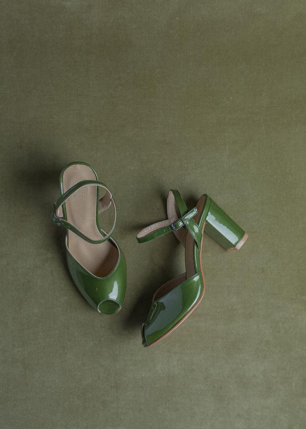 Maryam Nassir Zadeh Iris Patent Heel