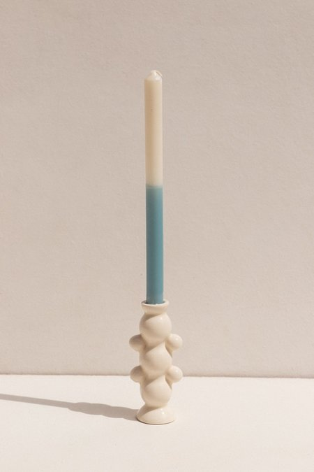 Abs Objects Lockdown Candle - Ivory