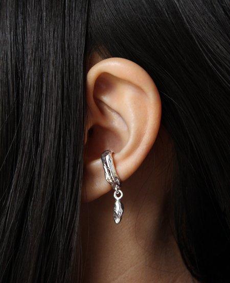Ora-C Mancino Ear Cuff - Silver
