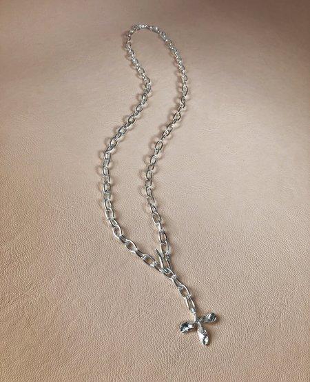 Ora-C TRIFOLI chain - Silver