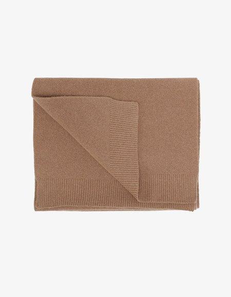 Unisex Colorful Standard Merino Wool Scarf - Sahara Camel