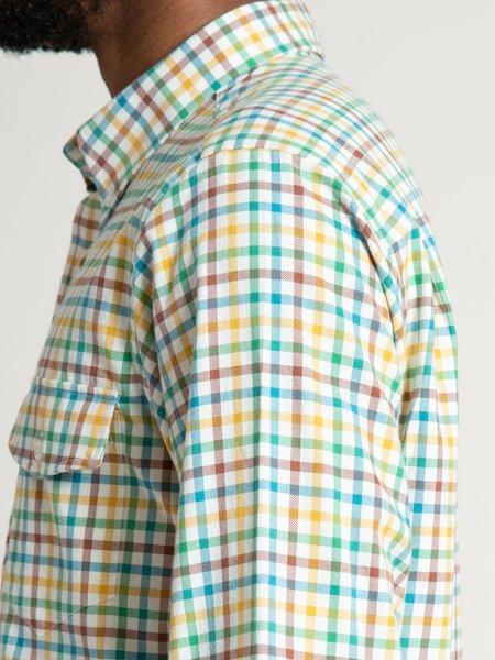 Freemans Sporting Club CS-2 Shirt - Yellow/Green Tattersall