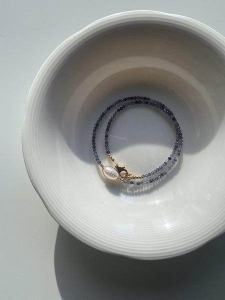 Cyntia Miglio Lolite Necklace - Baroque Pearl