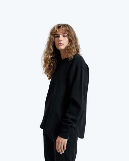 Reigning Champ Flatback Thermal Relaxed Crew