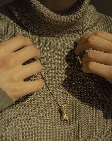 Eyde Venus Necklace - Brass